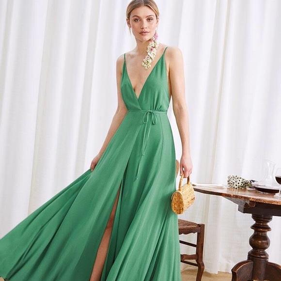 48c9f65bb368a5 Reformation Callalily dress in Green size 2. M_5bd0b1a0f63eeaa78a0f17b7